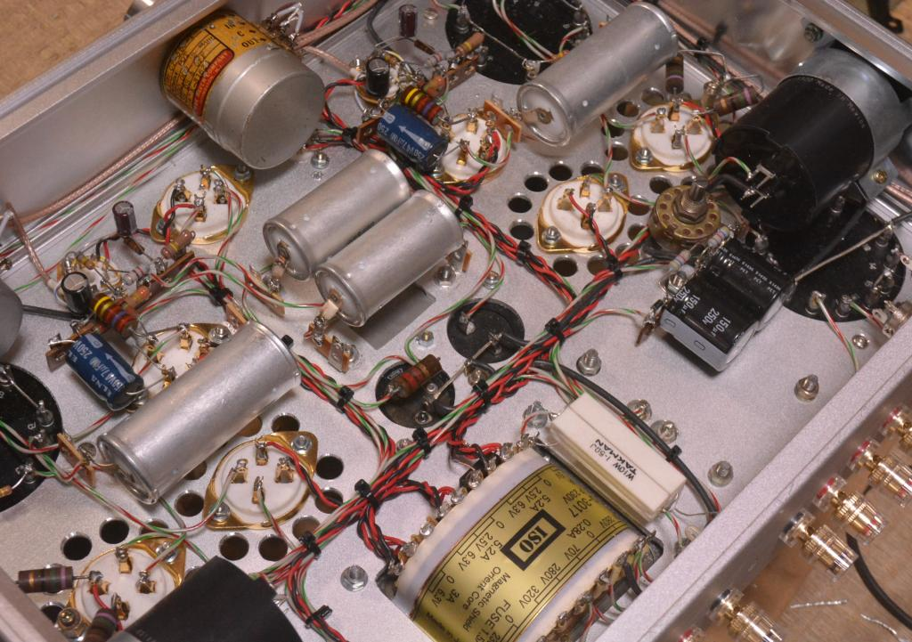 Special order made 2A3PP amplifier with all UTC HA series * Excellent !!!