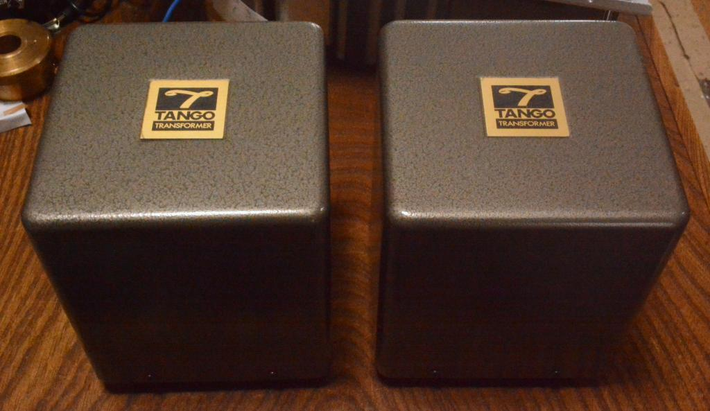 Pair Hirata Tango transformer X-3.5S for SE tube amp 300B, 2A3 * The legend !