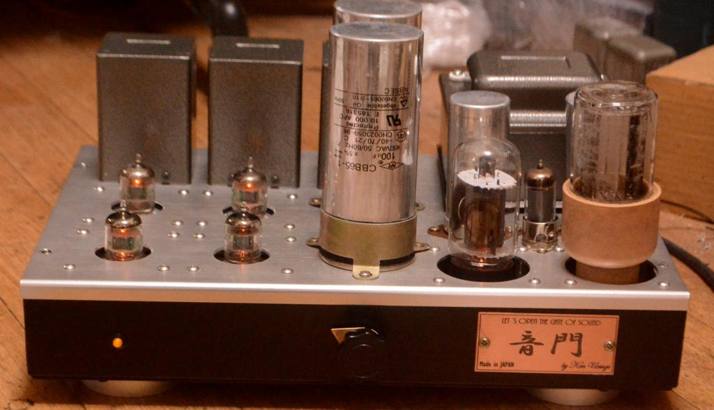 MM phono preamp CR type with NP-216 ouput transformer * ALL tubes are 396A, 6L6 tube for regulation