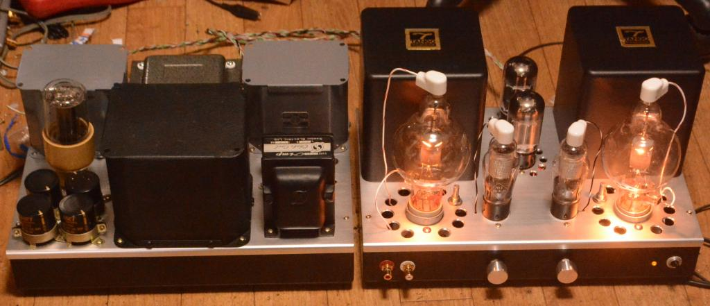 Special order made 100th stereo tube amplifier dynamic coupling class A2 * special order TANGO trans