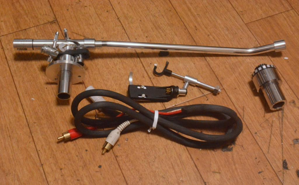 Stax UA-70 long 12inches tonearm for professional with 2 armward