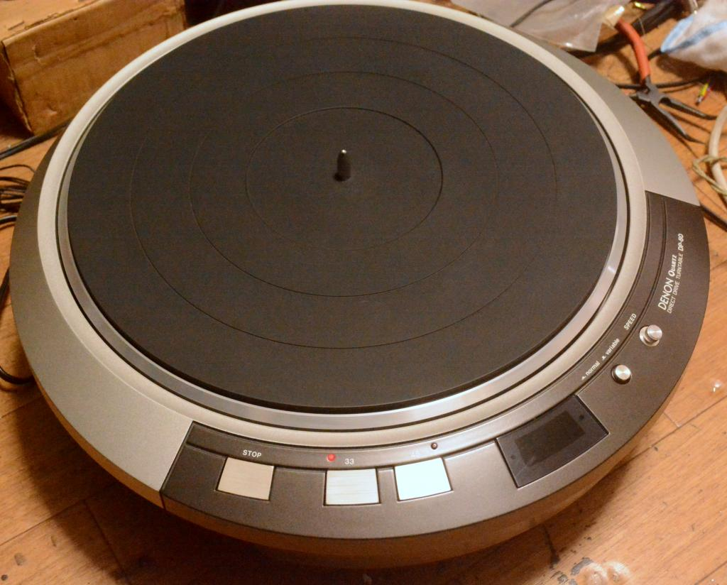 Denon DP-80 turntable unit DD driver