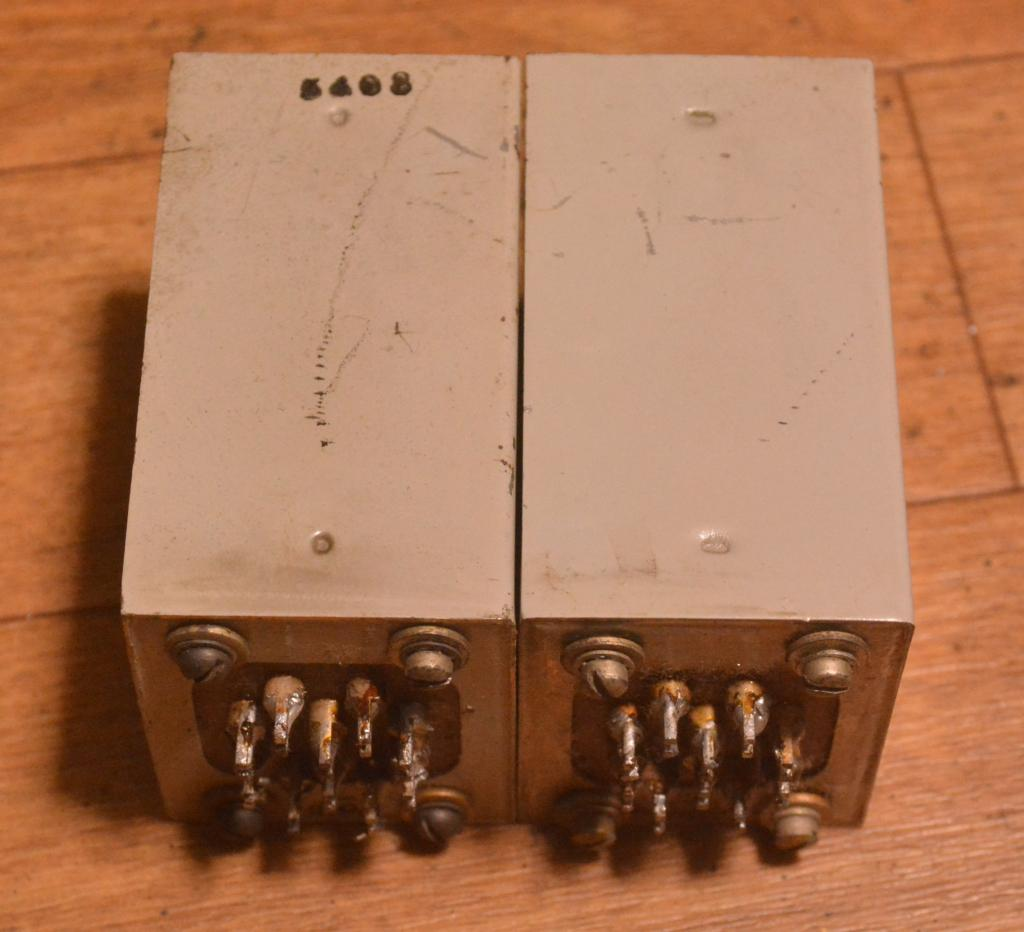 50s  year Langevin 116B preamplifier output transformer for 6j7, 310A tube * VG++