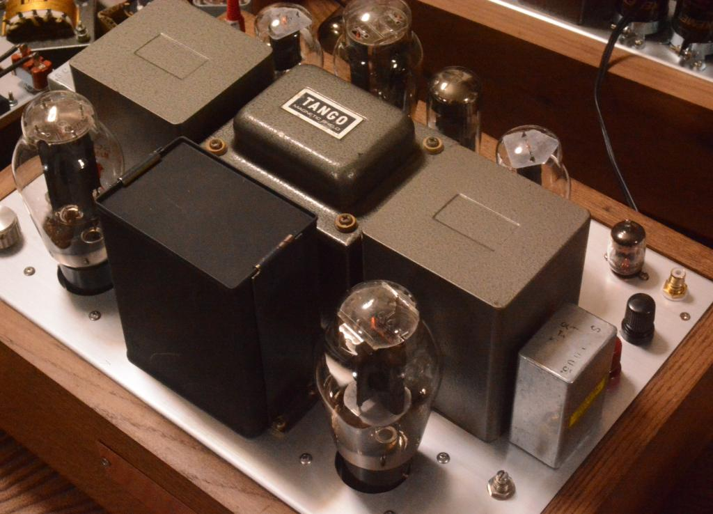300B stereo tube amplifier class A1, 10W output