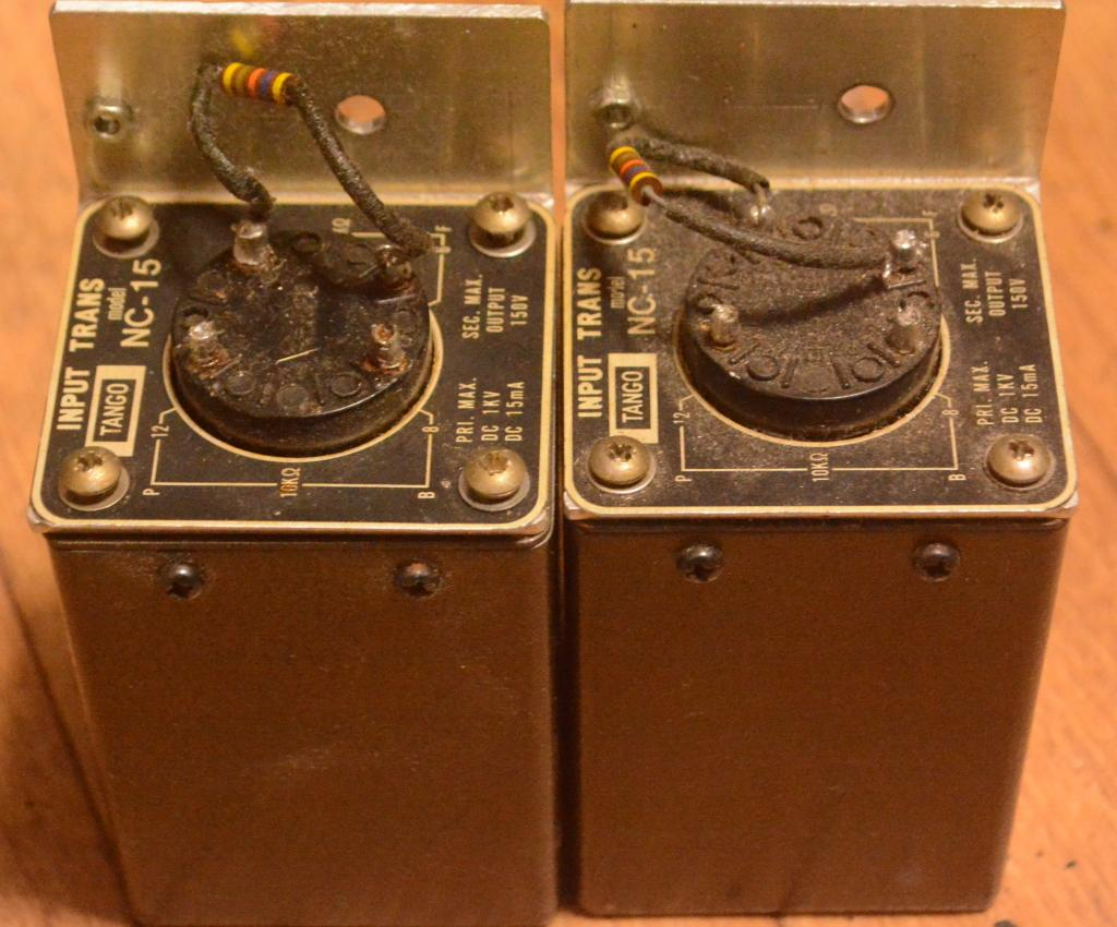 Pair of Hirata TANGO interstage transformer NC-16 * Max DC 15mA