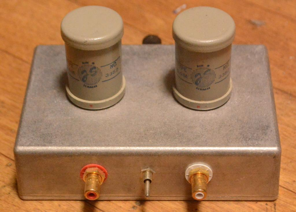Early Jorgen Schou JS No 3352 step up transformer for SPU, Koetsu cartridges