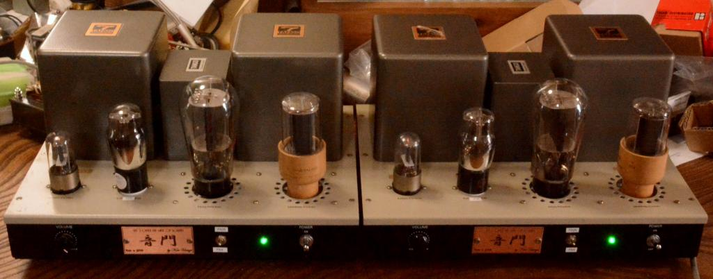 PX-4, PX-25 mono block x 2 tube amplifier with X-3.5S transformer