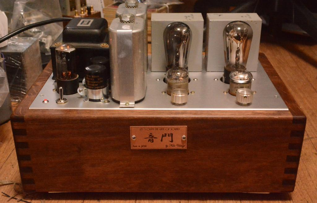 [Special version] 71A SE tube amplifier with Western Electric 181B OPT and 40s year Western wiring