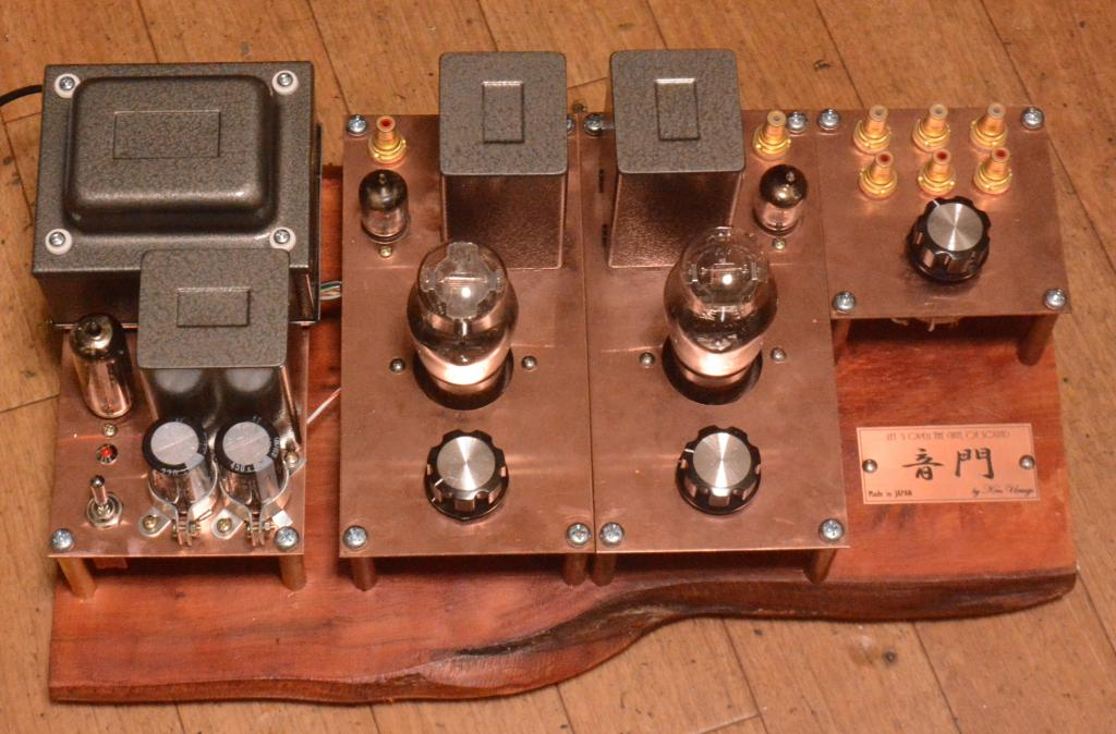 396A-71A tube preamplifier special order made with NP-126 OPT