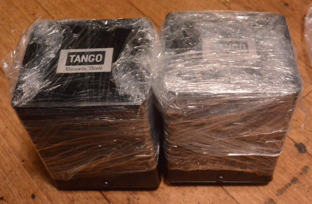 Pair of protptype HIRATA TANGO interstage transformer NP-1 for 211,845 * EX RARE