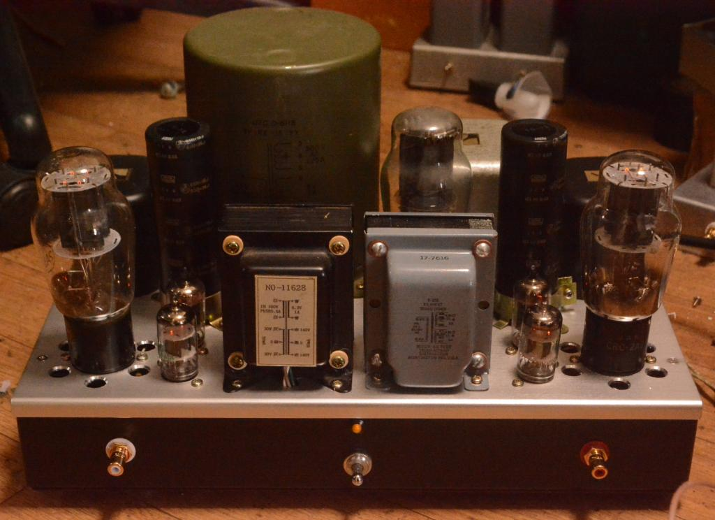 Audio Note Kondo NEIRO type 2A3 SE tube amplifier with LUX output transformer * Perfect !!!