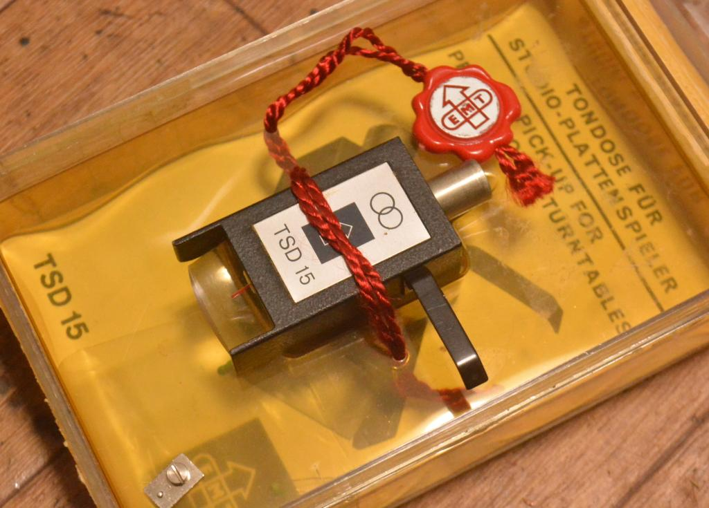 Early EMT TSD-15 cartridge using for professional,  EMT type connector * Perfect condition