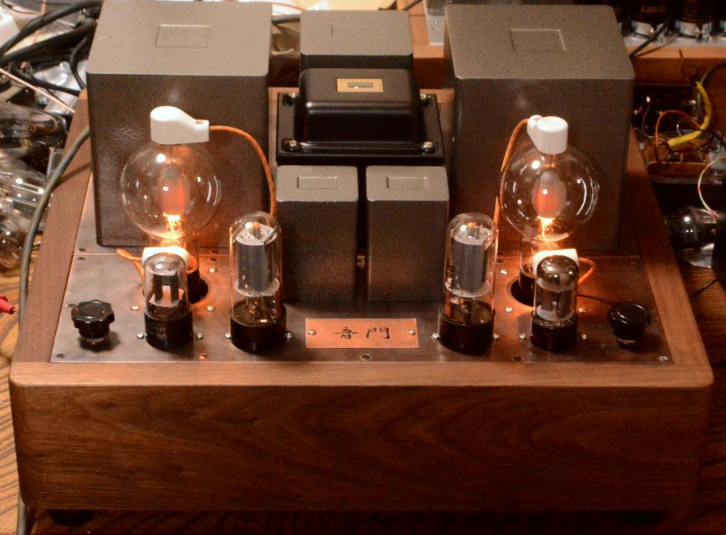 808 SE tube amplifier cathode choke drive X series transformer. Limited only 100V input