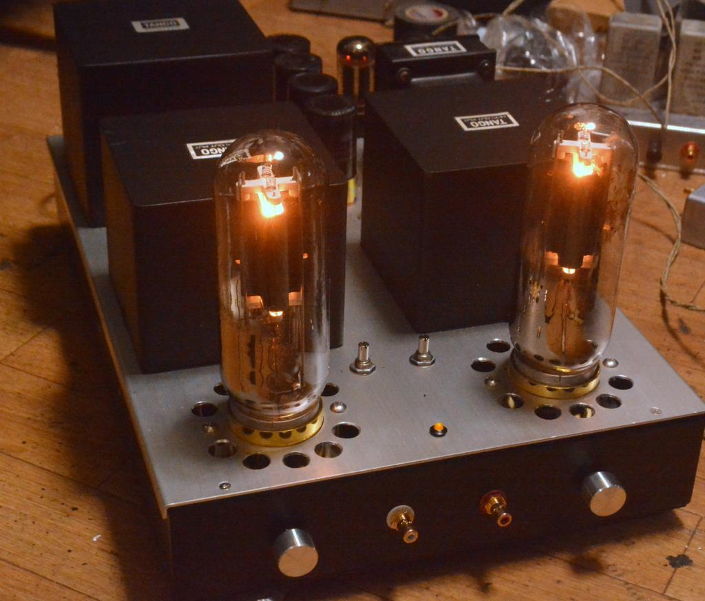 Audio Note Kondo Ongaku type 211 SE tube amplifier with ALL Hirata TANGO transformers