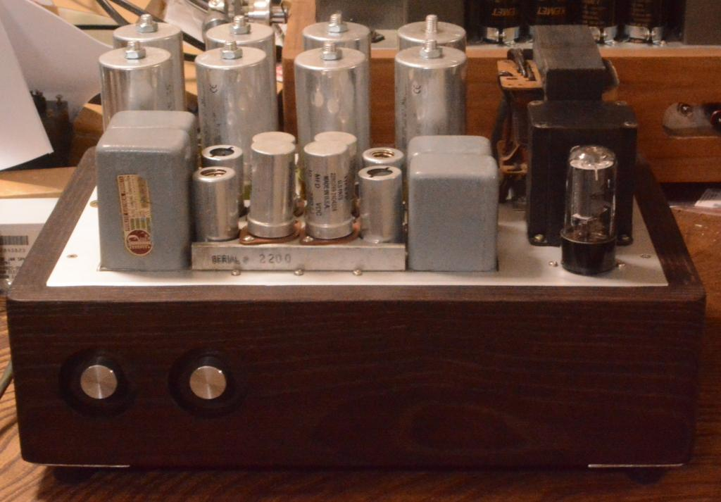 50s  yearPeerless (Altec) A-428B preamplifier 600:600ohm * 117~230V input
