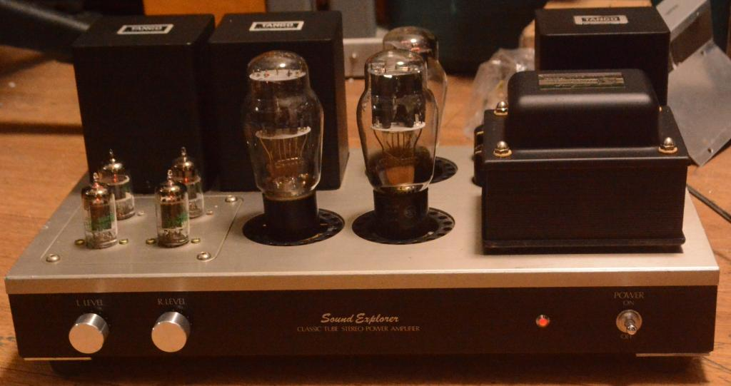 Sound Exprorer SL-770 Audio Note Neiro type stereo tube amplifier with all Hirata TANGO
