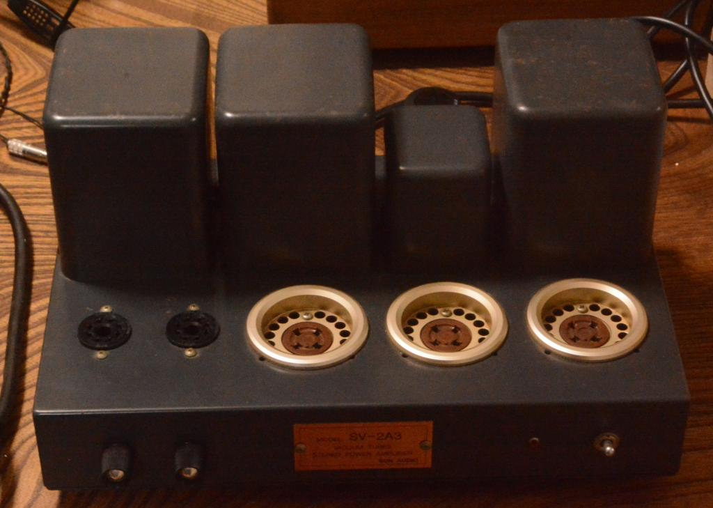 New old stock Early Sun Audio SV-2A3 tube amplifier * 100V/50Hz 60Hz