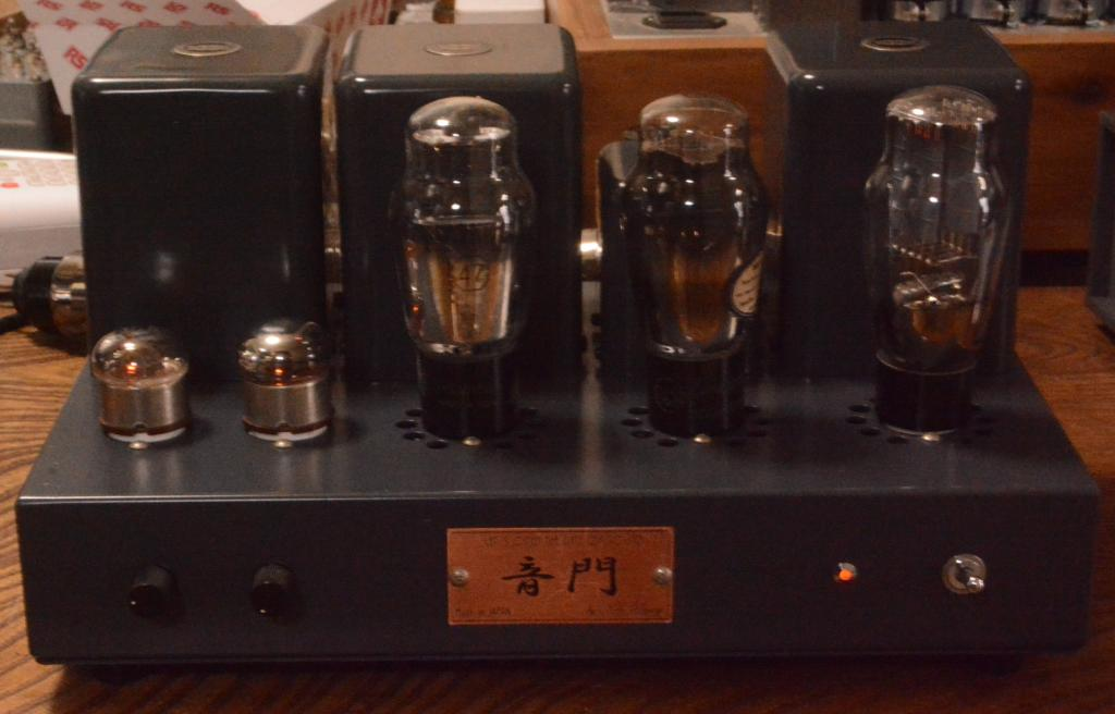 46/47 SE tube amplifier all TAMURA transformer driving tube 717A