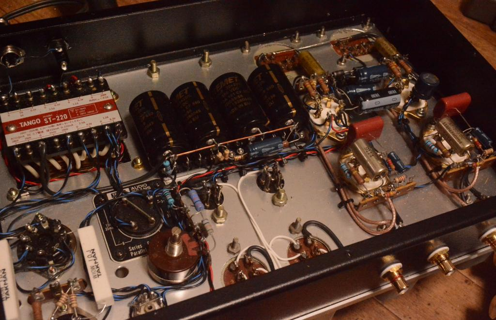 Prototype 310A LCR amplifier with all Langevin transformers * for MM/MC cartridge 300B regulator