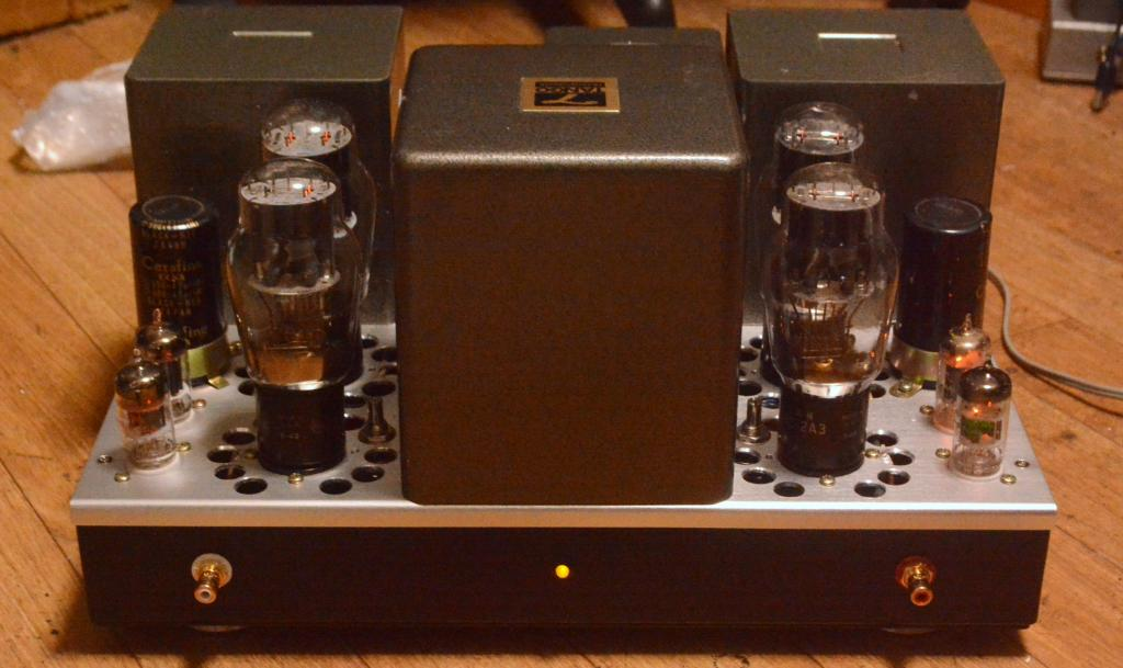 Audio Note Kondo NEIRO type 2A3 PSE tube amplifier with ALL Hirata TANGO special order made X series