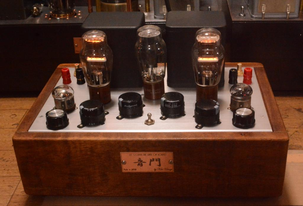 10Y/VT-25/VT-62/801 stereo tube amplifier Western Electric, Jorgen schou transformer * 117 V spec