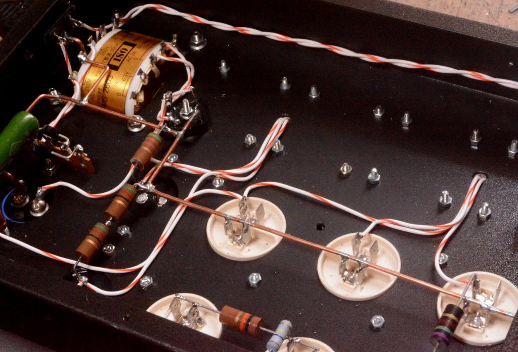 Special order made LCR tube amplifier