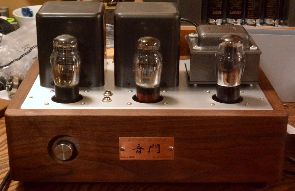 45 SE tube amplifier/headhphone amp driving tube 717A