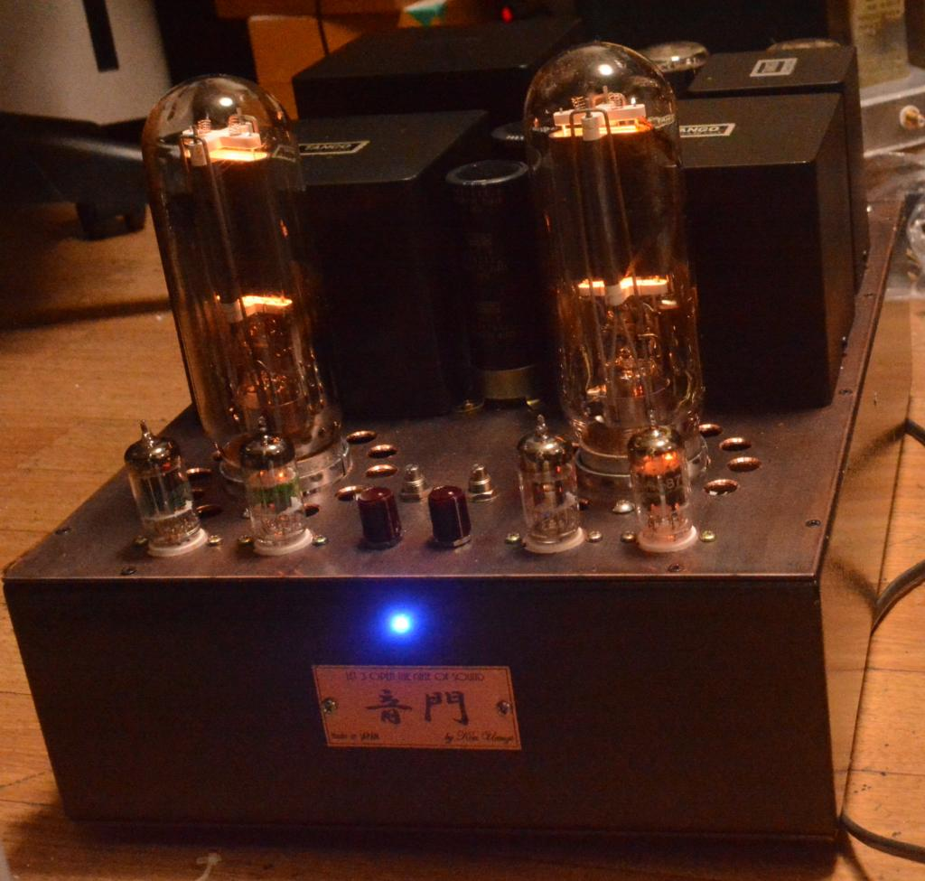 Audio Note Kondo Ongaku type 211 SE tube amplifier