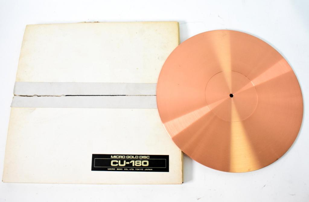 Micro Seiki CU-180 Copper Turntable Mat for professional with original packing