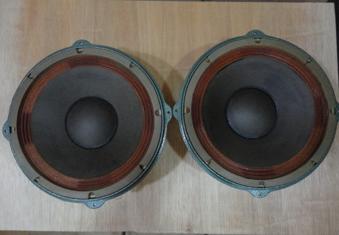 Pair GOTO UNIT 70s year woofer SG-30W * Ex RARE