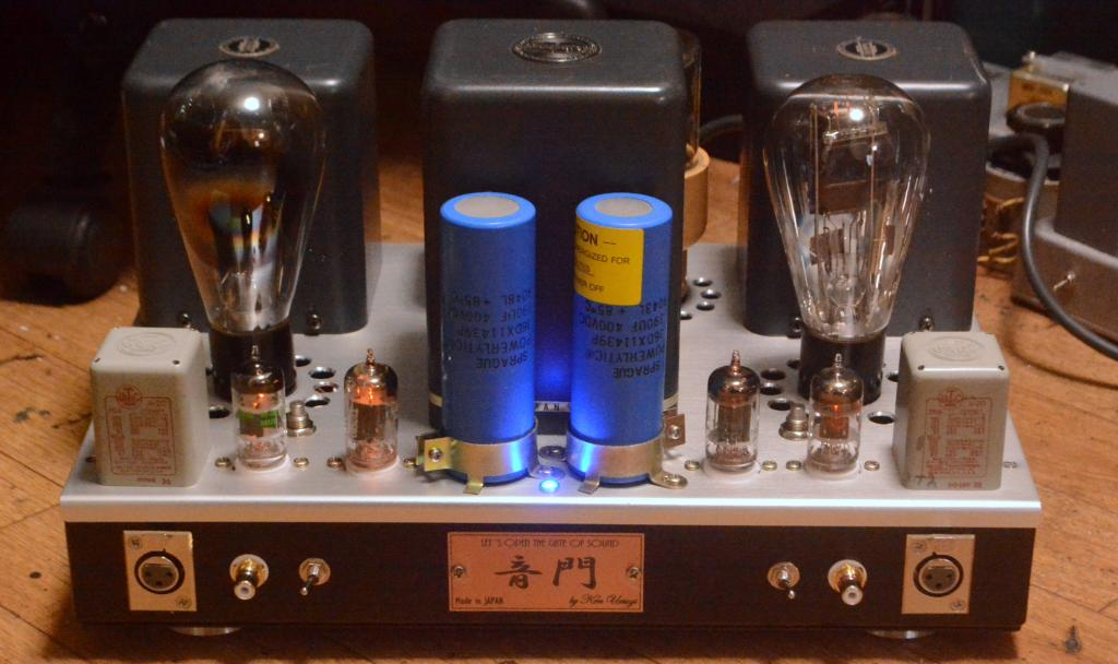 50 tube SE stereo amplifier pure class A1 * All transformer are TAMURA
