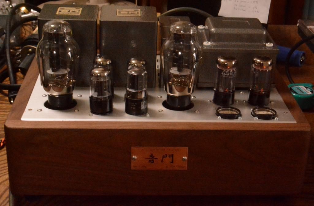 300B stereo tube amplifier class A1, 8W output