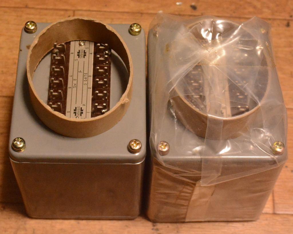 NOS Pair Early TAMURA SIT-3KM interstage transformer special order by SAKUMA * 3K/80mA