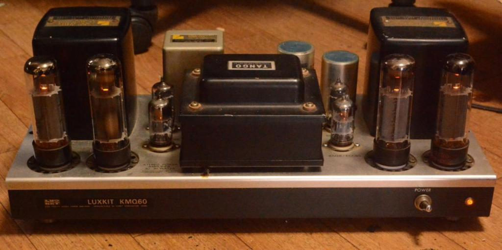 70s year Luxman MQ-60 tube stereo ampilifier upgraded EL-34, 6350, 6L6 tube