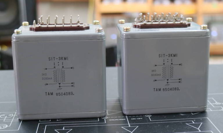 Pair Early TAMURA SIT-3KM interstage transformer special order by SAKUMA * 3K/80mA