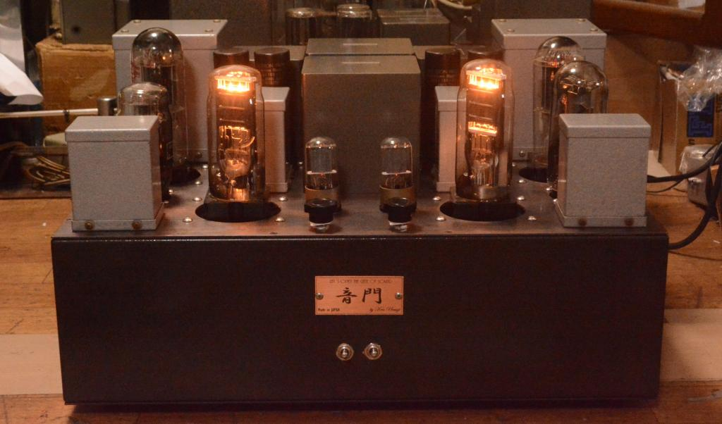 [ORDER MADE] DA-60 SE tube amp * all British tubes,  PX-4 drive DA-60  * No tube included !!!