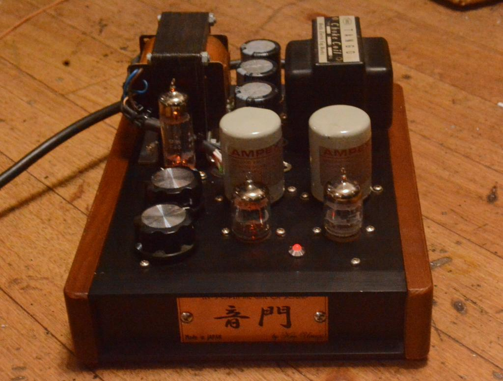 WE396A preamp tube amplifier with Ampex output transformer and Telefulken power trans