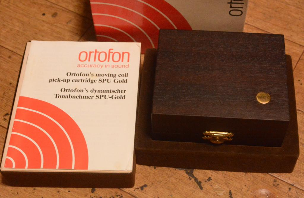 Ortofon SPU-A Gold Limited silver wire * Serial number: 1576