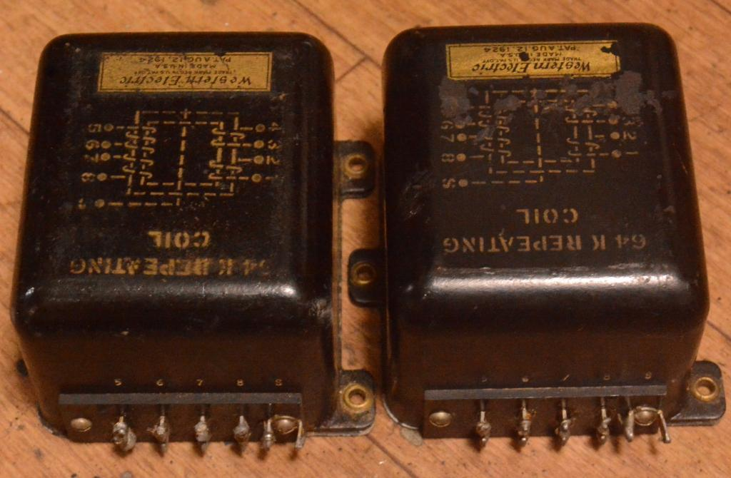 20s YEAR Western Electric REP COIL stepup ratio 1:2