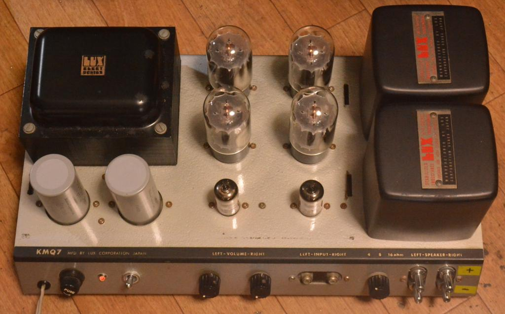 70s year Luxman MQ-7 tube stereo ampilifier * Perfect working condition