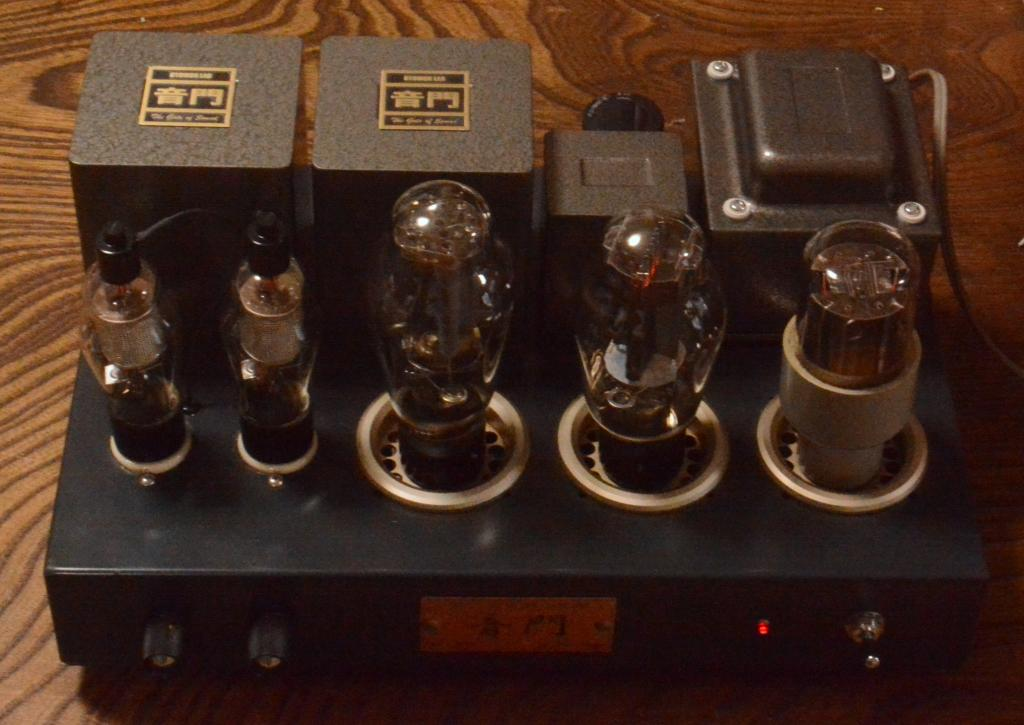 Sun Audio WE91B type 300B SE stereo tube amplifier