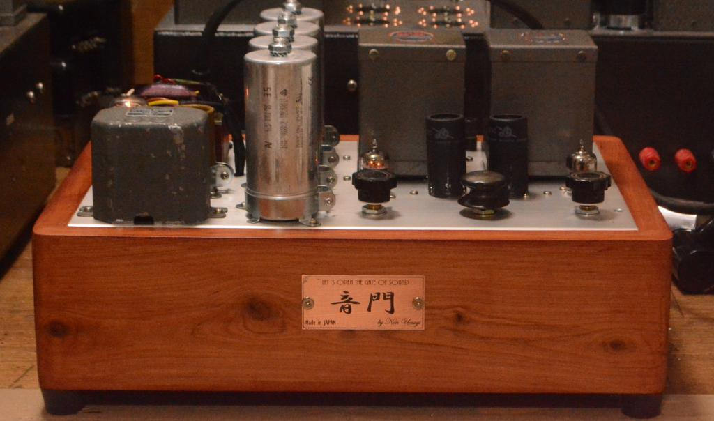 MM phono preamp 396A with PEERLESS ouput transformer