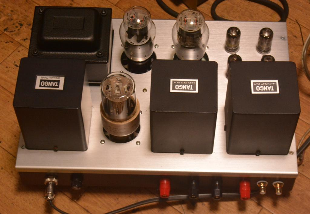 Audio Note Neiro type stereo tube amplifier with all Hirata TANGO