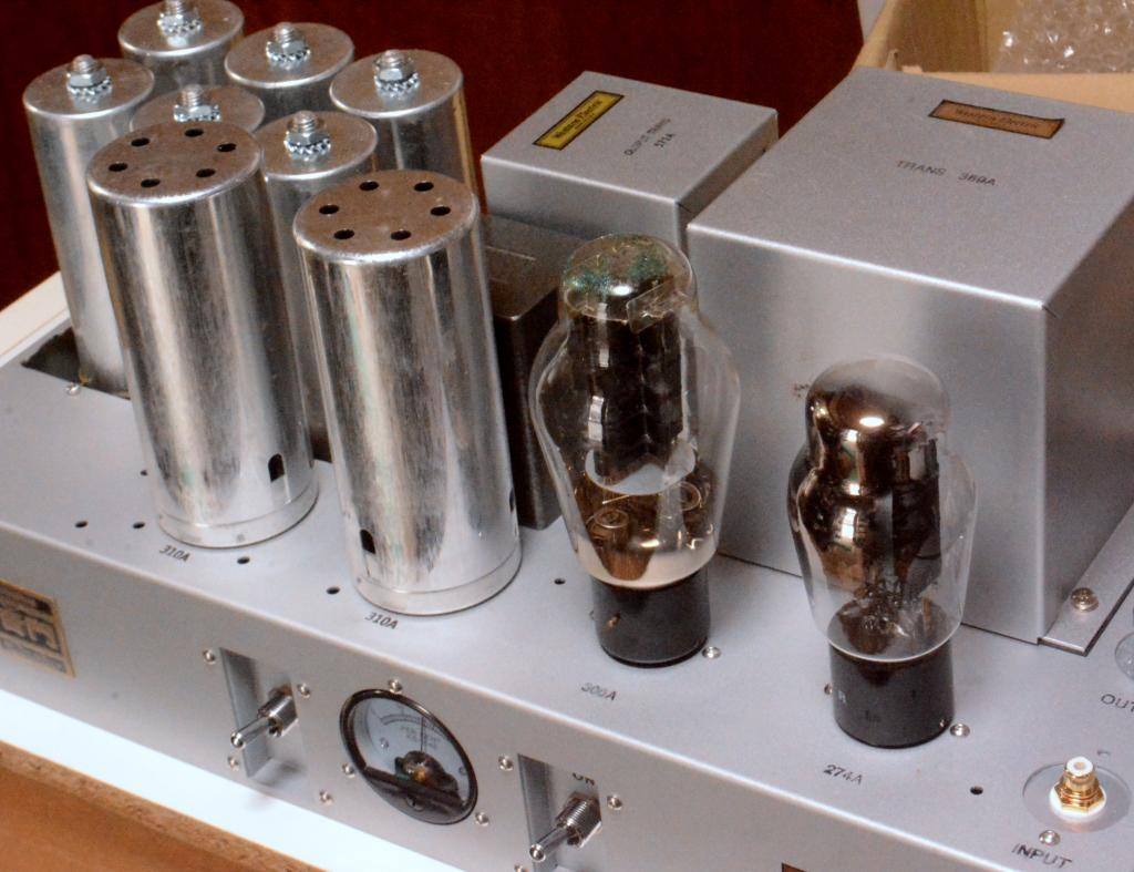 Western Electric 91A type tube amplifier replica monoblock x 2