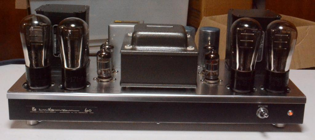 71A PP stereo tube amp with Kenyon T-108 output transformer 100~117V input