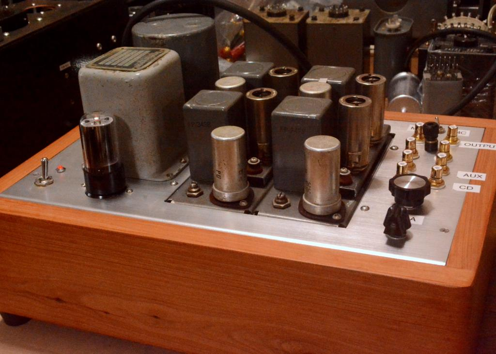 50s  year IPC/Western Electric MC/MM phono amplifier with all UTC transformers