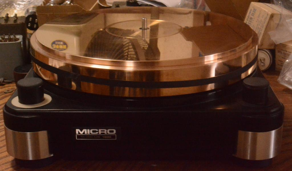 Micro seiki RX-1500 turntable unit without motor