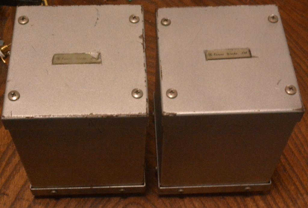 Early KANNO output transformer MO-030S x 2 (used in 300B-MN) * Permalloy core