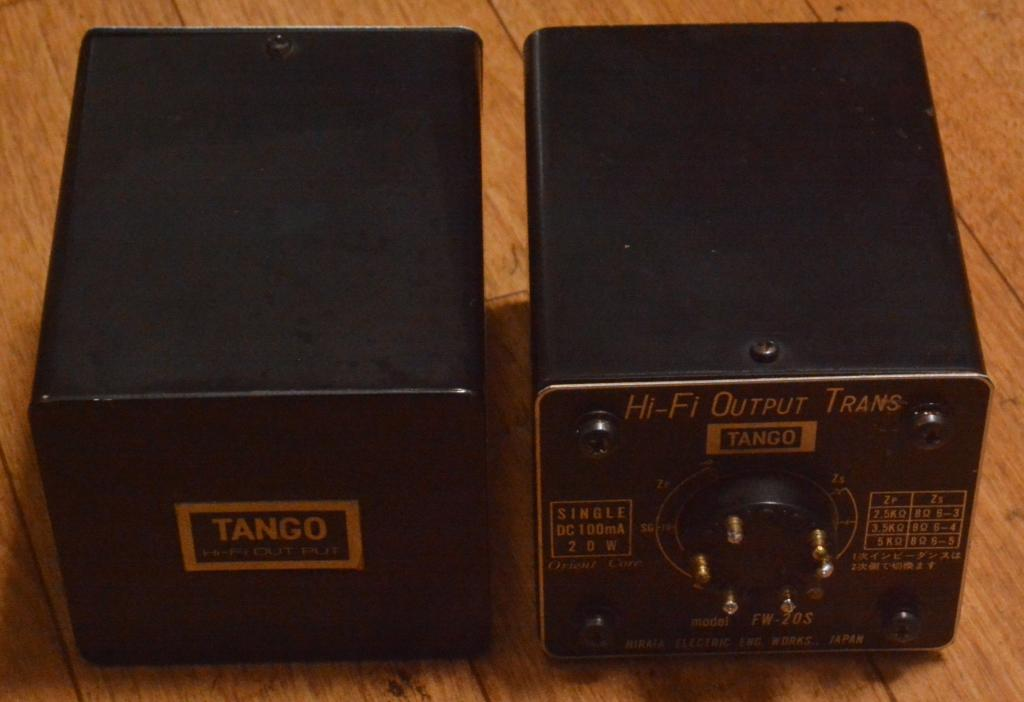 HIRATA TANGO SE OPT transformer FW-20S for VT-52,300B,2A3,PX-25,KT-88
