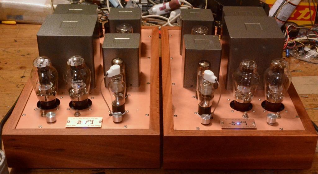 300B PSE tube amplifier monoblock x 2 * ALL TANGO transformer X-2.7S, ME-255, NC-20F